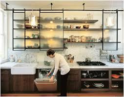 open cabinets kitchen ideas alternative kitchen ideas hanging sliding cabinet doors spaces