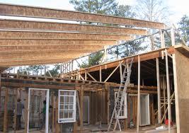 Residential Steel Beam Span Table by Litesteel Beam Helps Atlanta Remodeler Achieve Long Span Header
