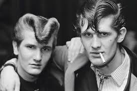the teddy boys hairstyle teddy boys youth subculture of the 50s others