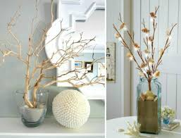 Decorating with Branches Coastal Style Faux Coral Light Branches