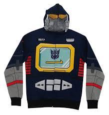 Amazon Com Halloween Costumes Amazon Com Transformers Soundwave Costume Hoodie Clothing