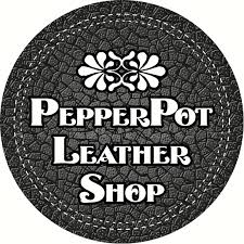 pepperpot wedding band handmade leather jewelry for men and by pepperpotleathershop