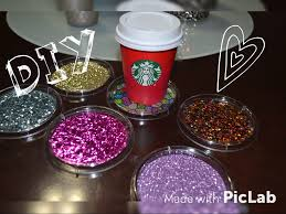 Drink Coasters by Dollar Tree Diy Cute Glitter Drink Coasters Inexpensive Gift