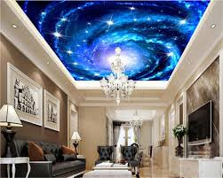 online get cheap galaxy bedroom aliexpress com alibaba group beibehang large custom wallpaper dream galaxy star sky ceiling mural 3d living room bedroom ceiling wallpaper