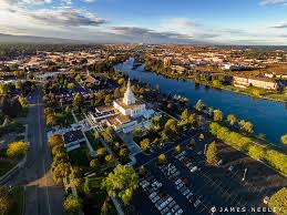 Idaho Falls Map Aerial Idaho Falls The City Of Idaho Falls Stretches Out A U2026 Flickr