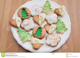 traditional german christmas cookies stock images image 35658324