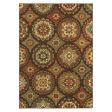 Shaw Living Medallion Area Rug Shaw Living Suzani Area Rug Orange And Blue Are Much Brighter