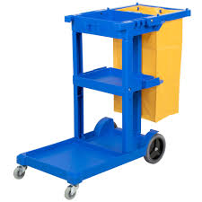 lavex janitorial cleaning cart janitor cart with 3 shelves and