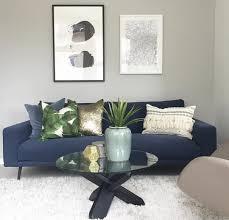 Scandinavian Interior Design Blue Navy Comfy Sofa Scandinavian Interior Design Boconcept