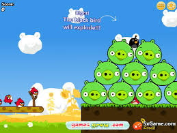 angry birds cannon 3 game funnygames