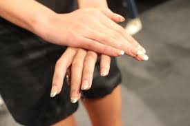 do it yourself runway french tip manicure with impress fashion