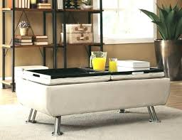 Fancy Ottomans Fancy Ottoman With Tray On Top Best Ottoman Table Ideas On Large