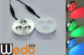 rgb led puck lights led puck lights 120v 93 dimmable led puck lights flush mount