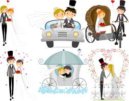 wedding backdrop vector free vector wedding backgrounds with happy newlyweds ai eps free