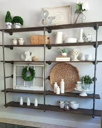 Galvanized Pipe Shelving by Diy Industrial Pipe Shelves Step By Step Tutorial On This Shelf