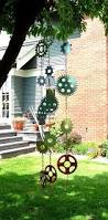 wind chime great idea for old parts from the garden to the
