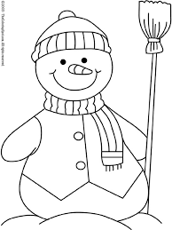 snowman coloring pages print google embroidery