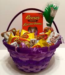 reese s easter bunny easter basket