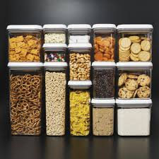 Airtight Kitchen Canisters Best Pantry Organizers With Coolest Food Storage Containers And