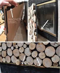 logs for fireplace binhminh decoration