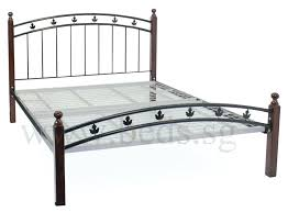 iron bed queen smartwedding co