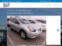nissan rogue erie pa pre owned 2015 nissan rogue select s sport utility in erie