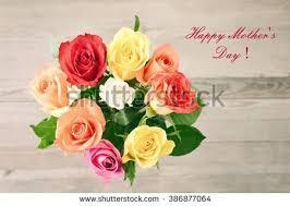 Flowers For Mum - wooden march 8 calendar next purple stock photo 374207776