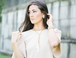 wear necklace images How to wear this tassel necklace multiple ways olive piper jpg