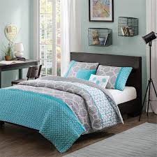 Chevron Bedding Queen Bedding Set Blue Grey Bedding Power On Gray And Teal Bedding