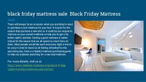 black friday mattress