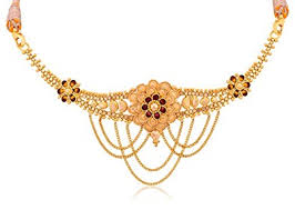 chokers necklace gold images Buy senco gold 22k yellow gold choker necklace online at low jpg