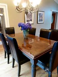 Country Style Dining Table And Chairs How To Refinish And Update A Maple Table