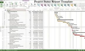 software development status report template project management status report fieldstation co