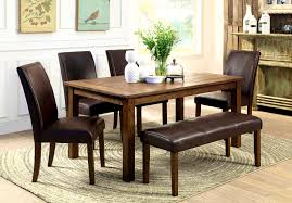 dining room chairs casters furniture glamorous big small dining room sets bench seating
