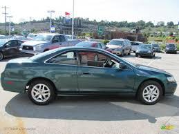 2002 honda accord v6 coupe 2002 noble green pearl honda accord ex v6 coupe 32177824 photo 8