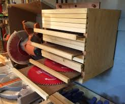 the saw blade cabinet 6 steps with pictures
