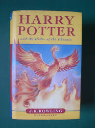 harry potter order phoenix rare misprint 1st
