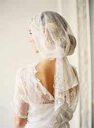 vintage wedding veils once wed