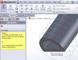 edit sketch pattern in solidworks make thread grooves soft robotics toolkit