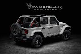 jeep gray wrangler 2018 jeep wrangler unlimited previewed in unofficial renders