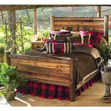 bed frame rustic wood bed frame wtfiarz rustic wood bed frame