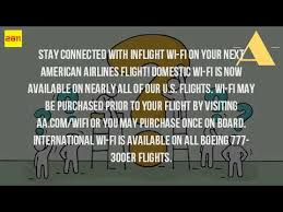 american airlines wifi netflix is there wifi on american airlines youtube