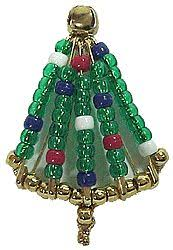 beaded safety pin ornaments for these and other