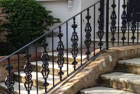 Iron Banisters Cast U0026 Wrought Iron Railings British Spirals And Castings London