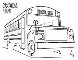 bus coloring pages coloring pages with