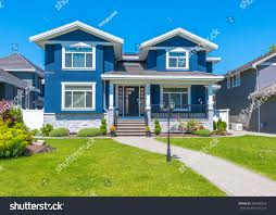 residential house big custom made luxury house nicely stock photo 346448522