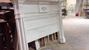 lewisburg mantel style bed headboard chateau collection youtube