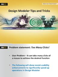 ansys design modeler 14 5 tips and tricks keyboard shortcut