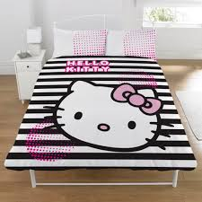 Girls Queen Comforter Bedroom Hello Kitty Toddler Bedding Girls Bedding Hotel