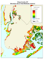 County Map Of New York State by More Sea Level Rise Maps For New York State